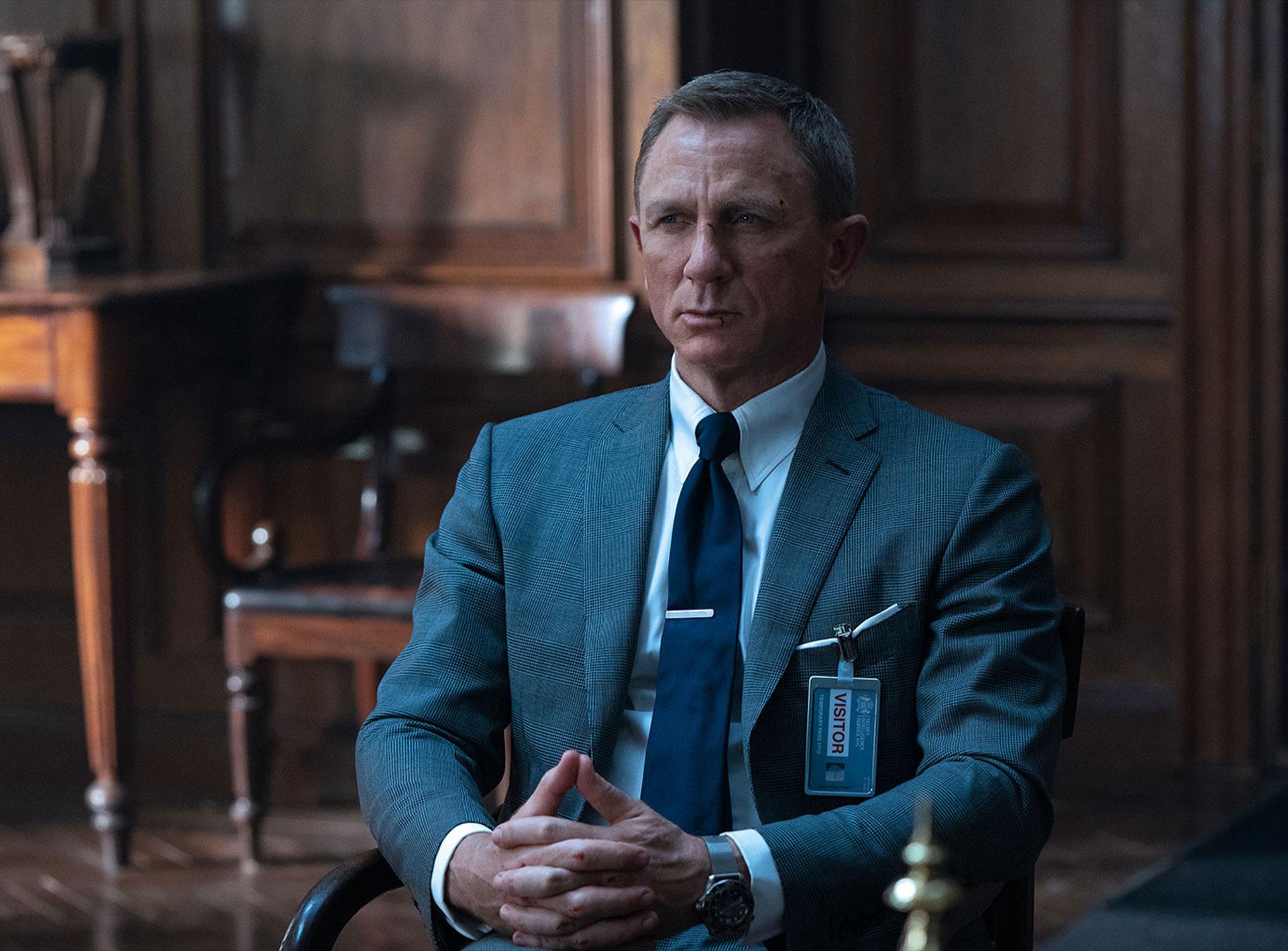 No Time to Die Tom Ford ties - Daniel Craig
