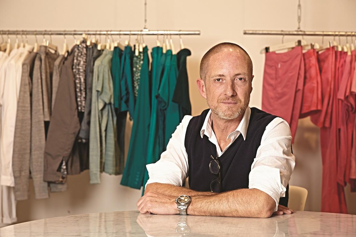 Adam Brown co-founder of Orlebar Brown