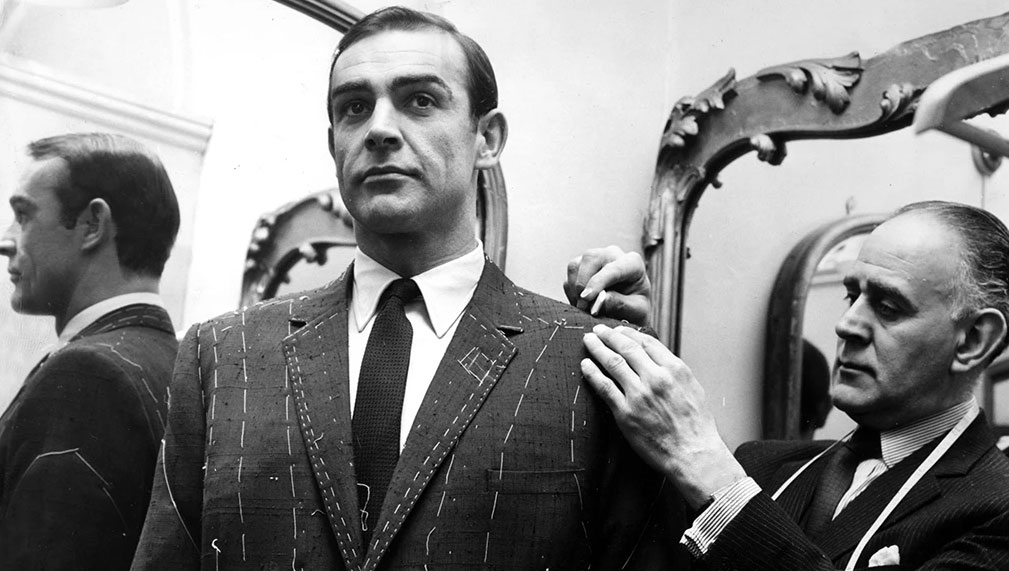Anthony Sinclair tailoring sean connery