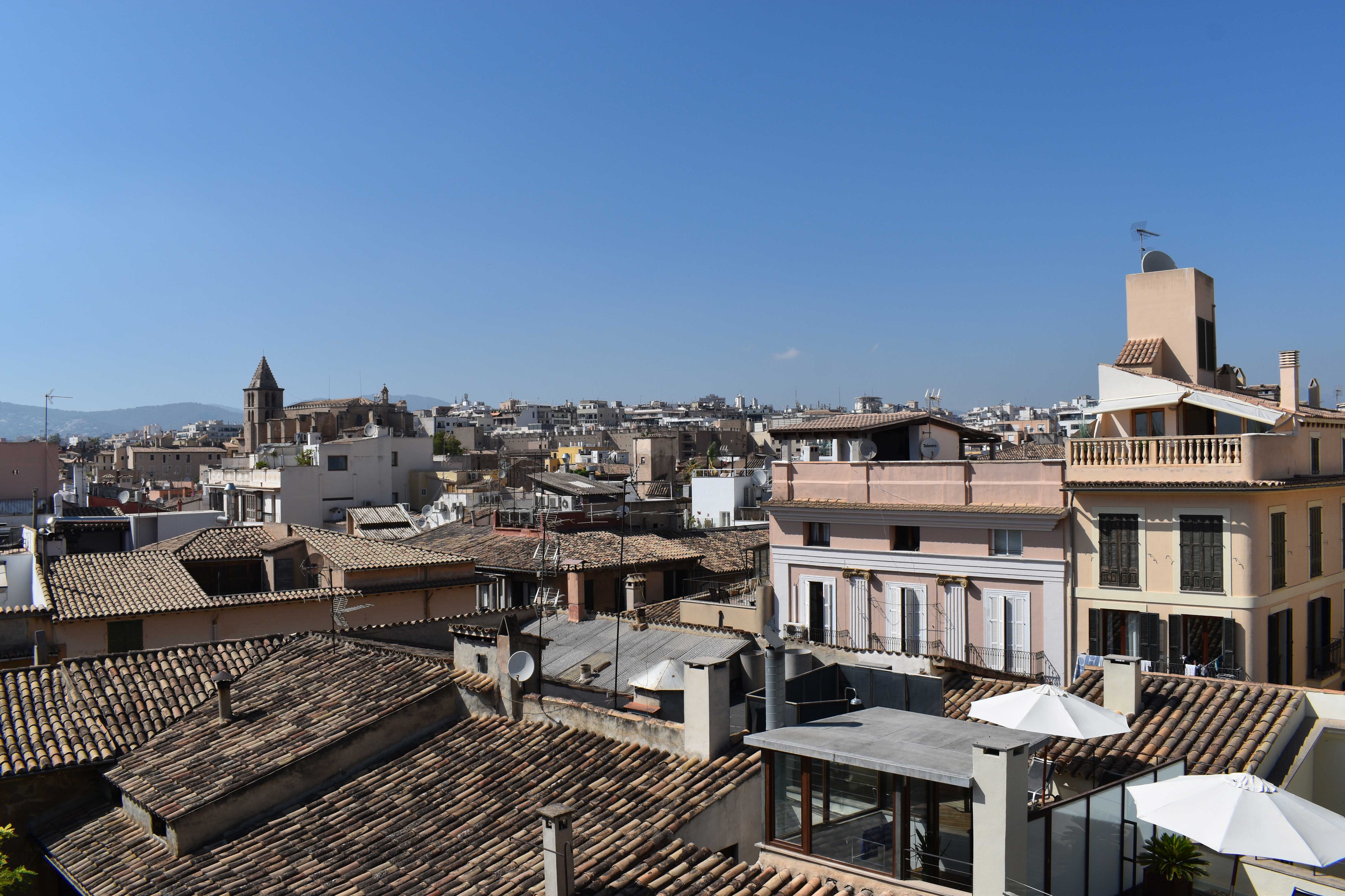 rooftops of palma