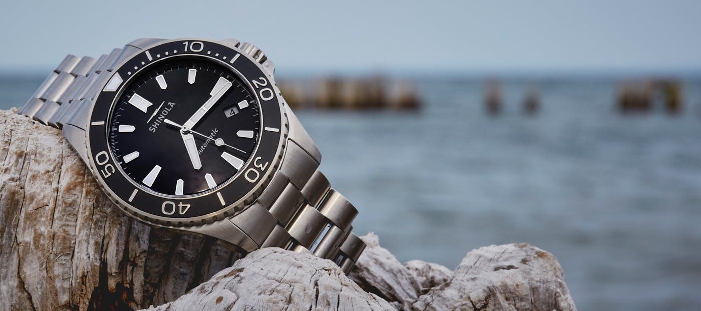 Shinola Dive watch