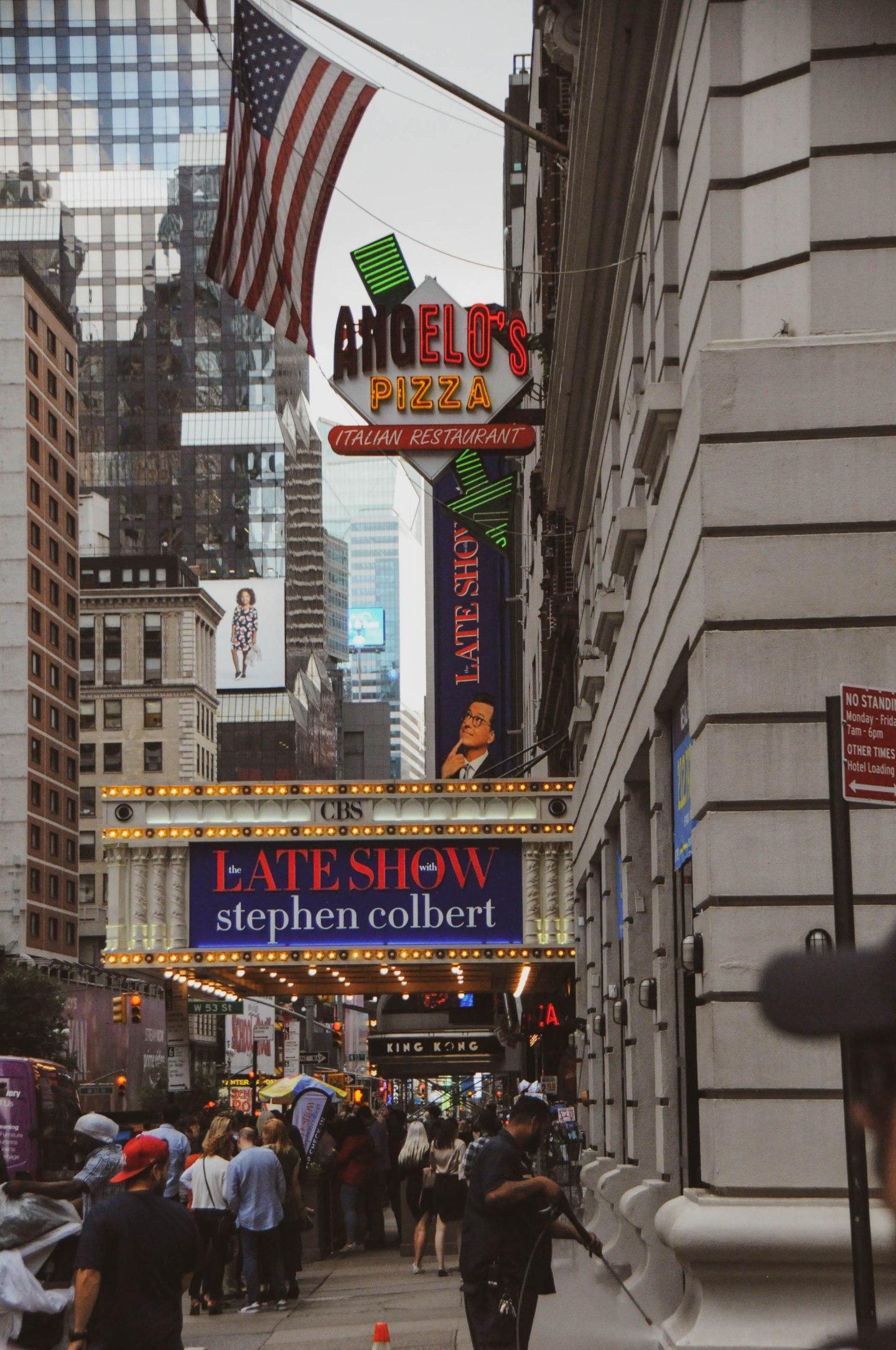 James Bond New York Stepehn Colbert