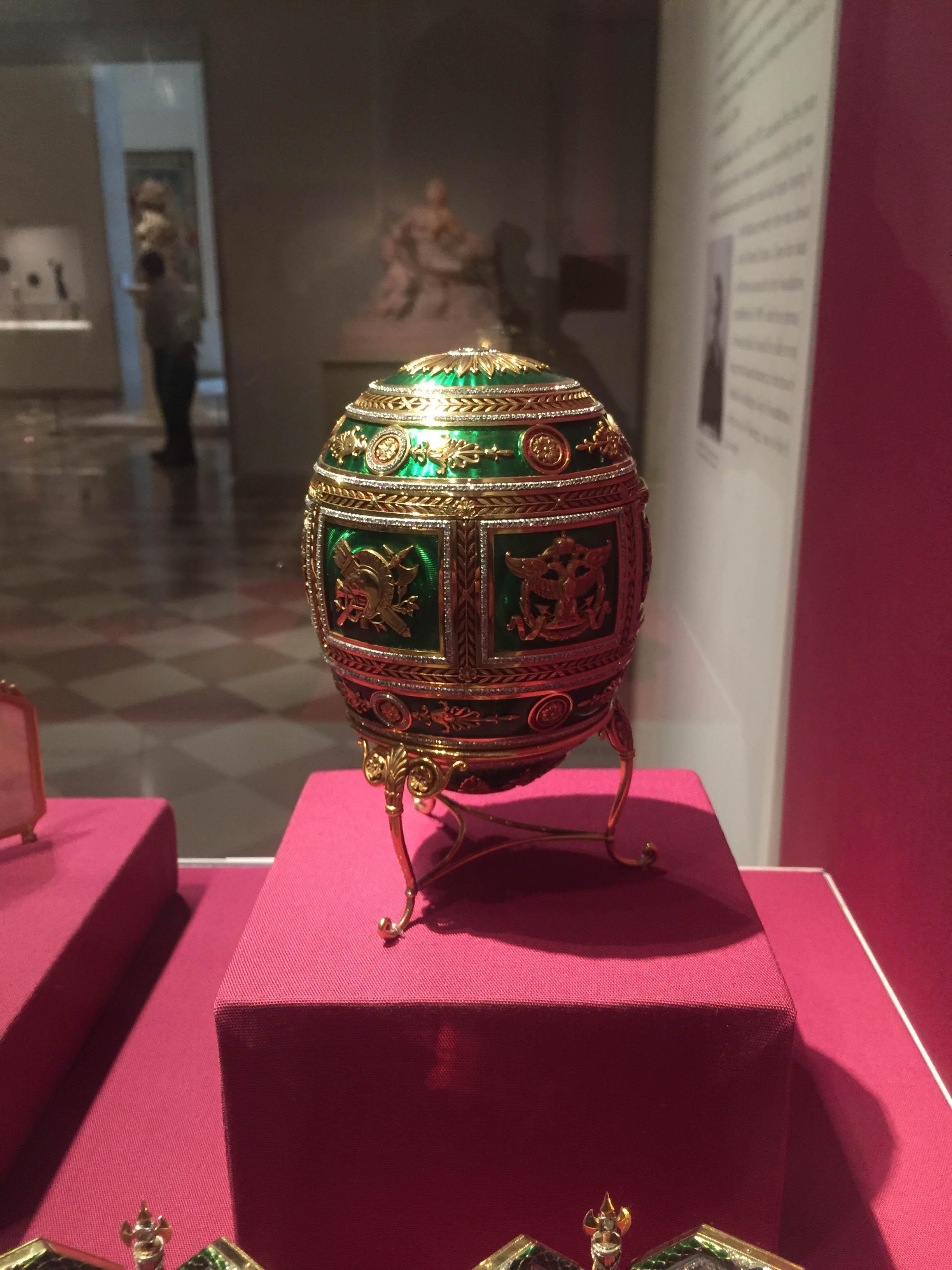 James Bond New York Faberge Egg