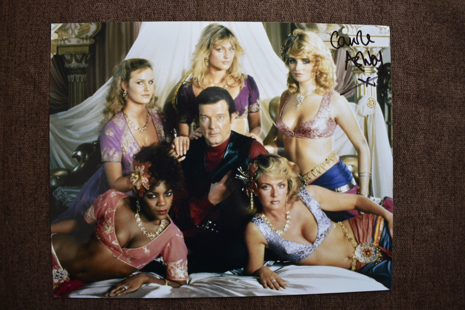 signed bond girl photo