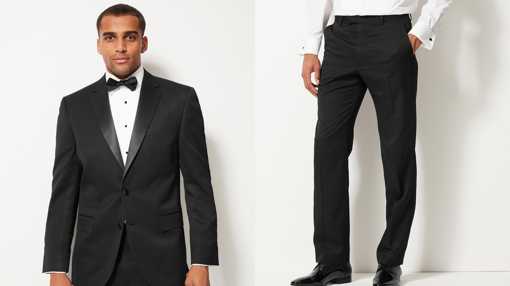 black tuxedo for secret cinema