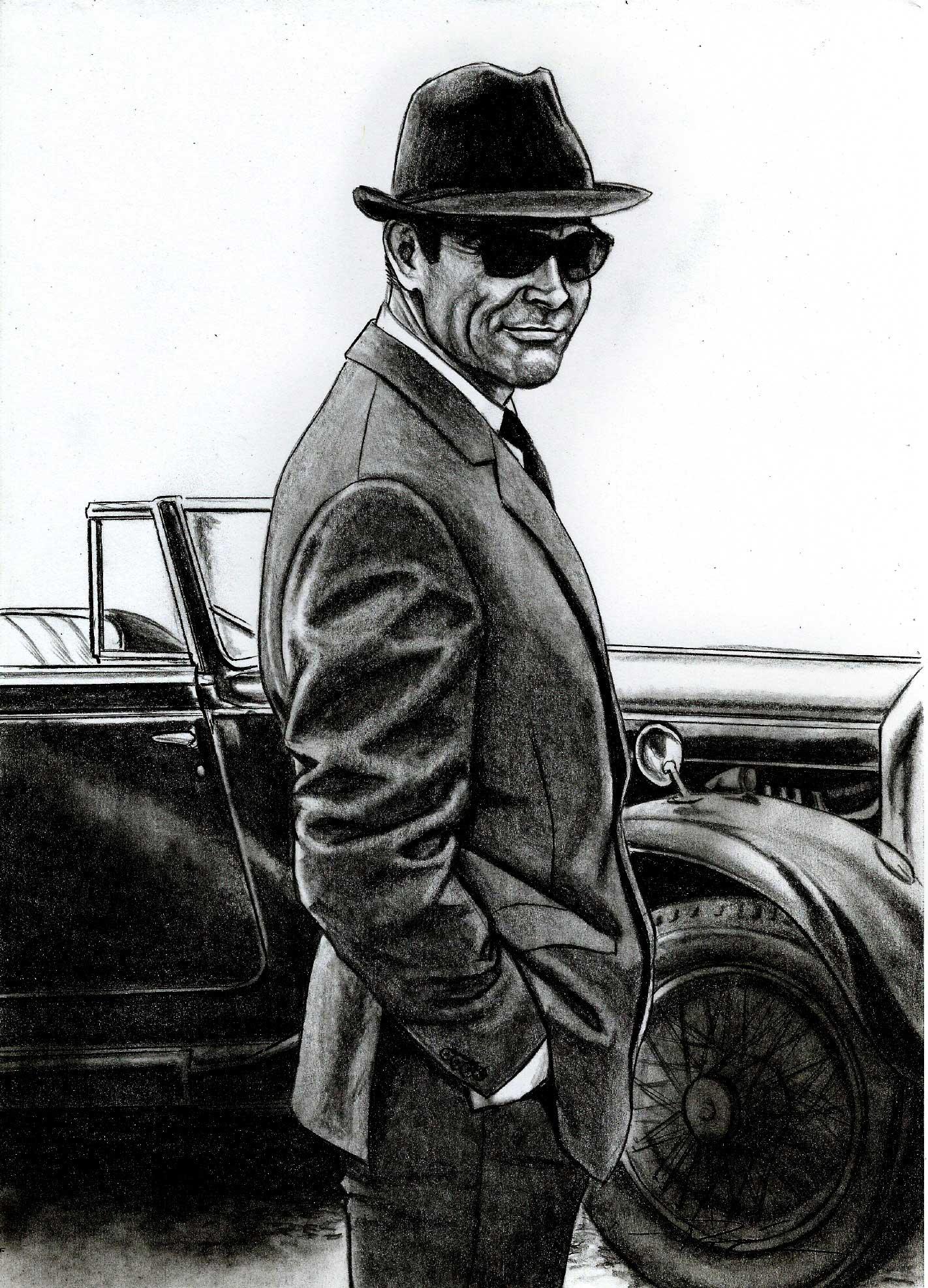 James Bond Dr No drawing