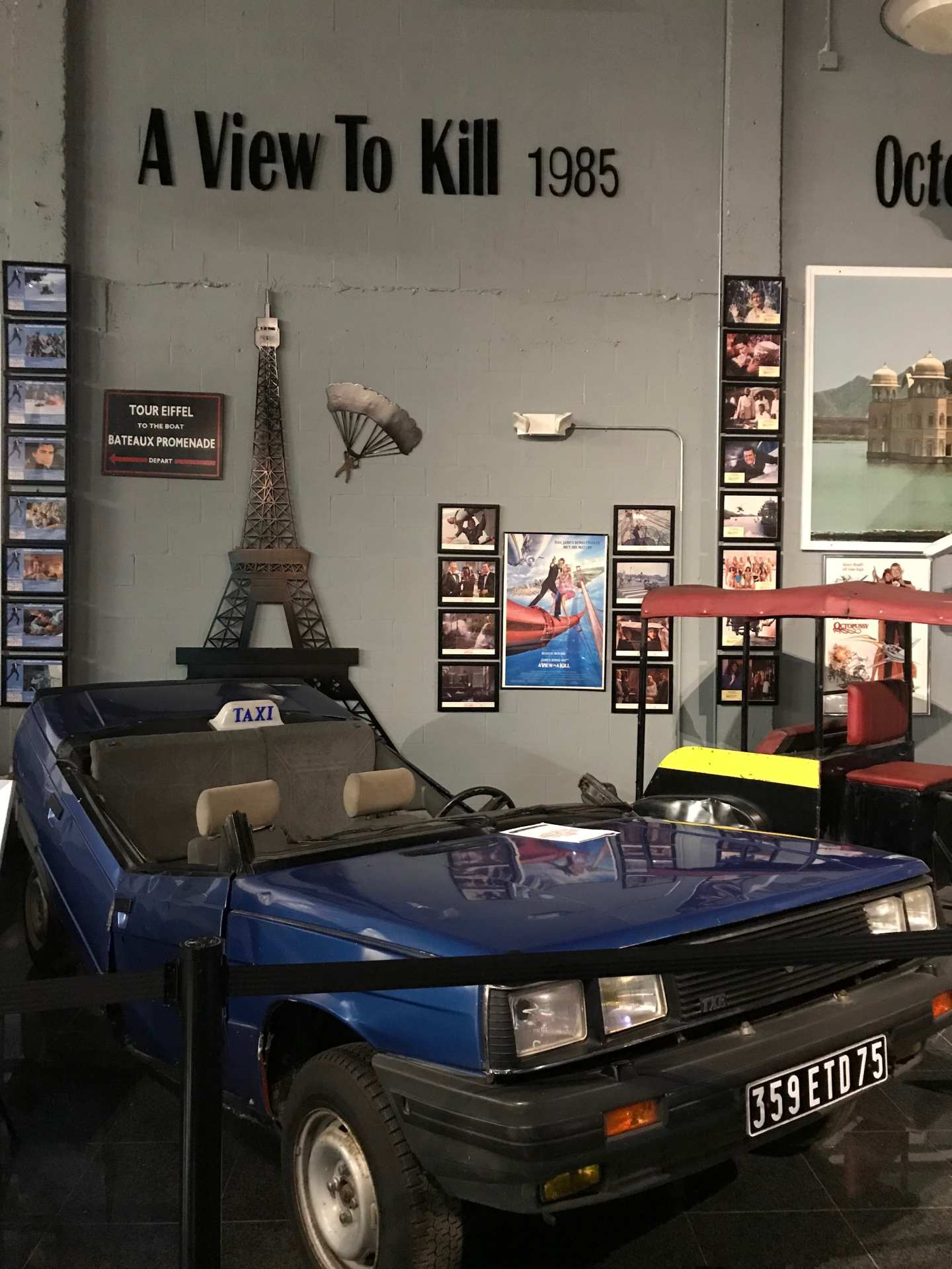 A view to a kill car in museum