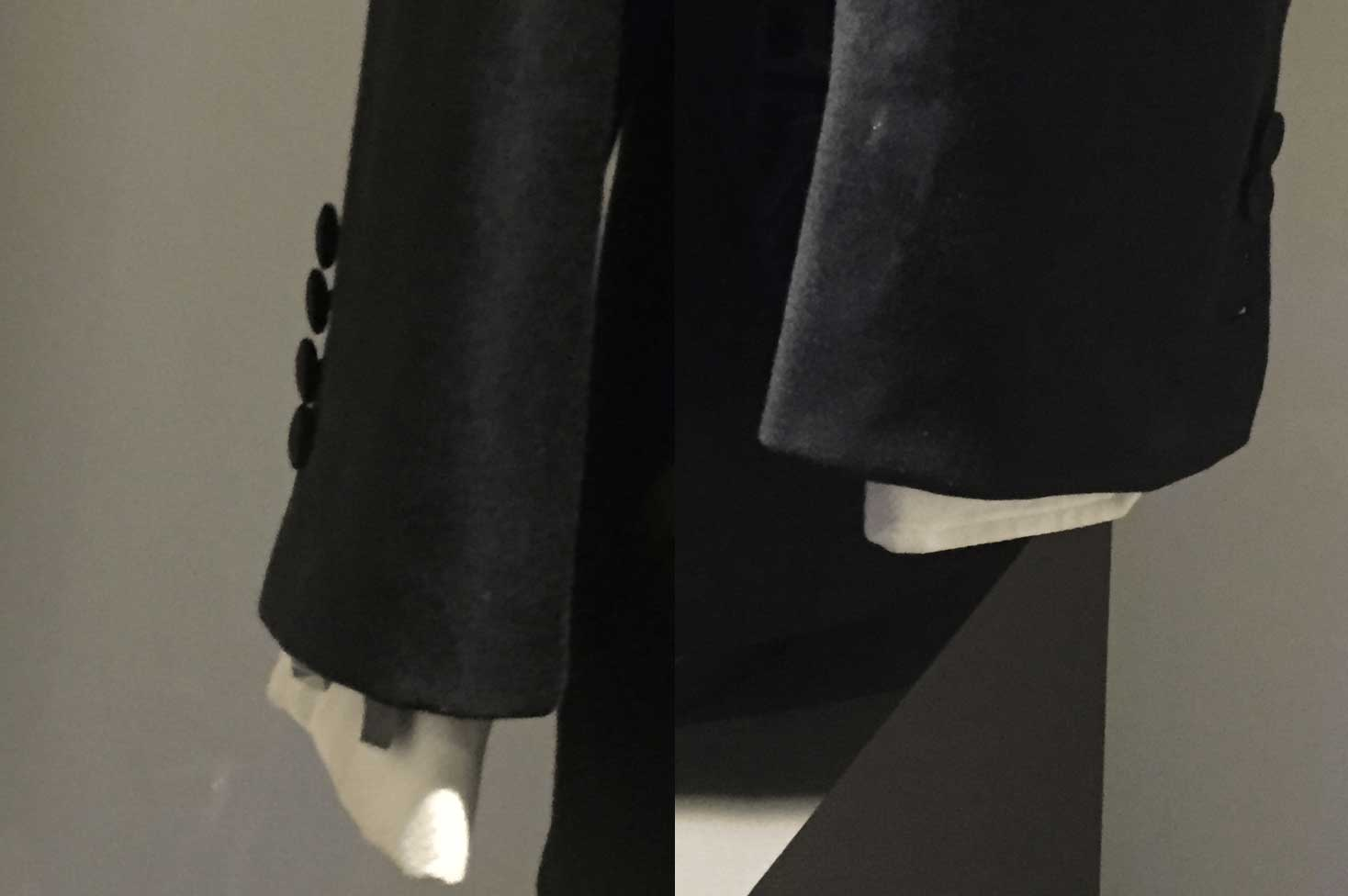 close of cuffs on casino royale tuxedo