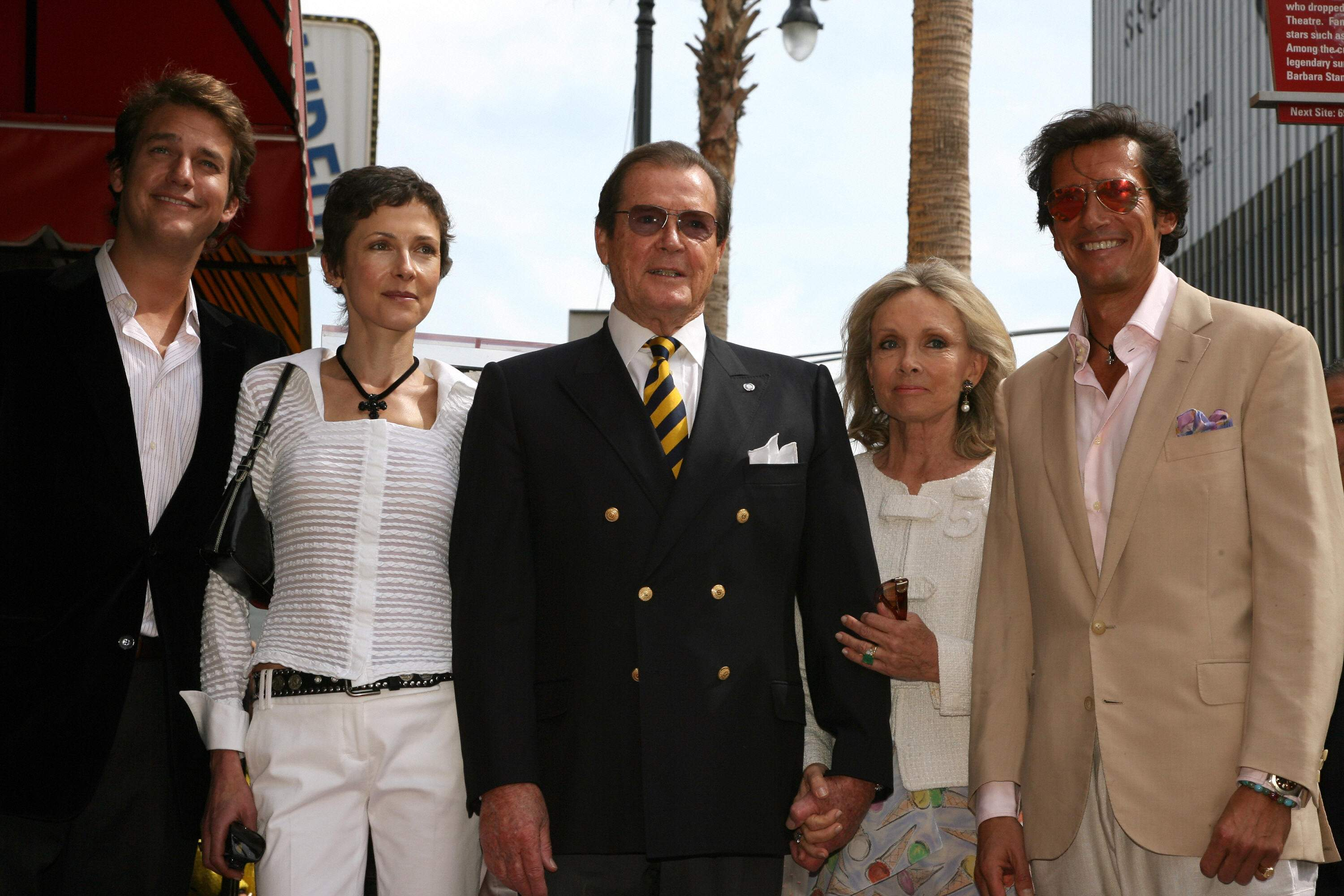 roger moore and family