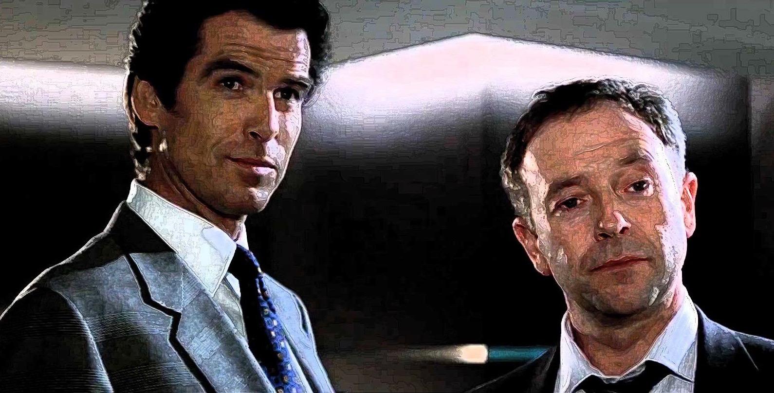 Bond and Tanner in Goldeneye