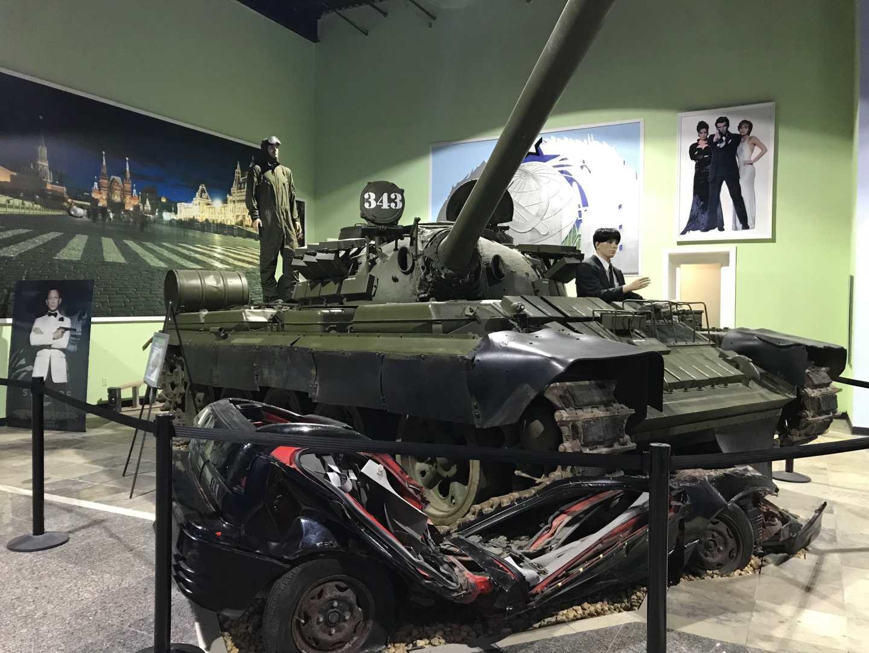 Goldeneye Tank in the Dezer Collection