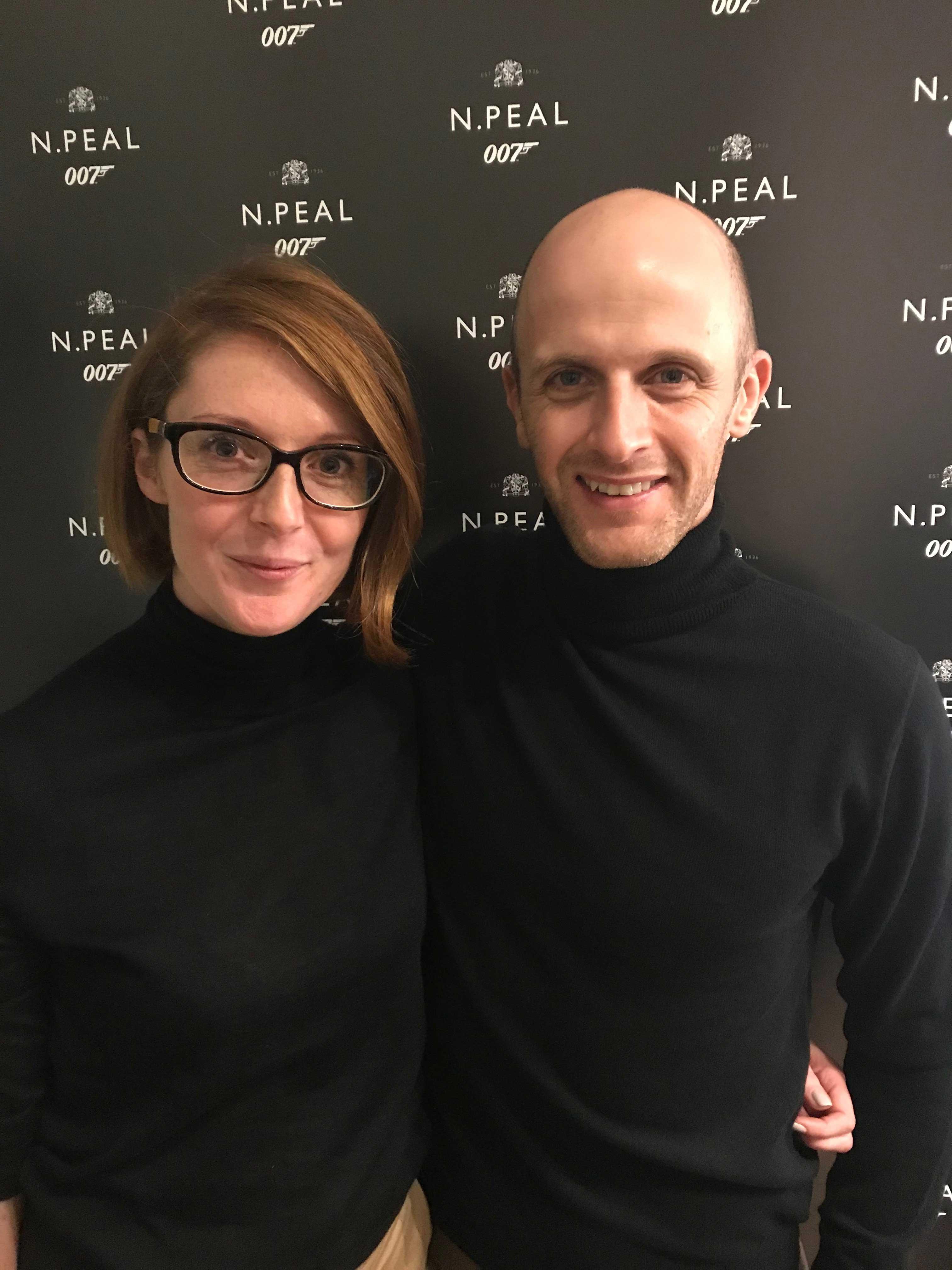 Jo Mclaren Npeal and pete Brooker
