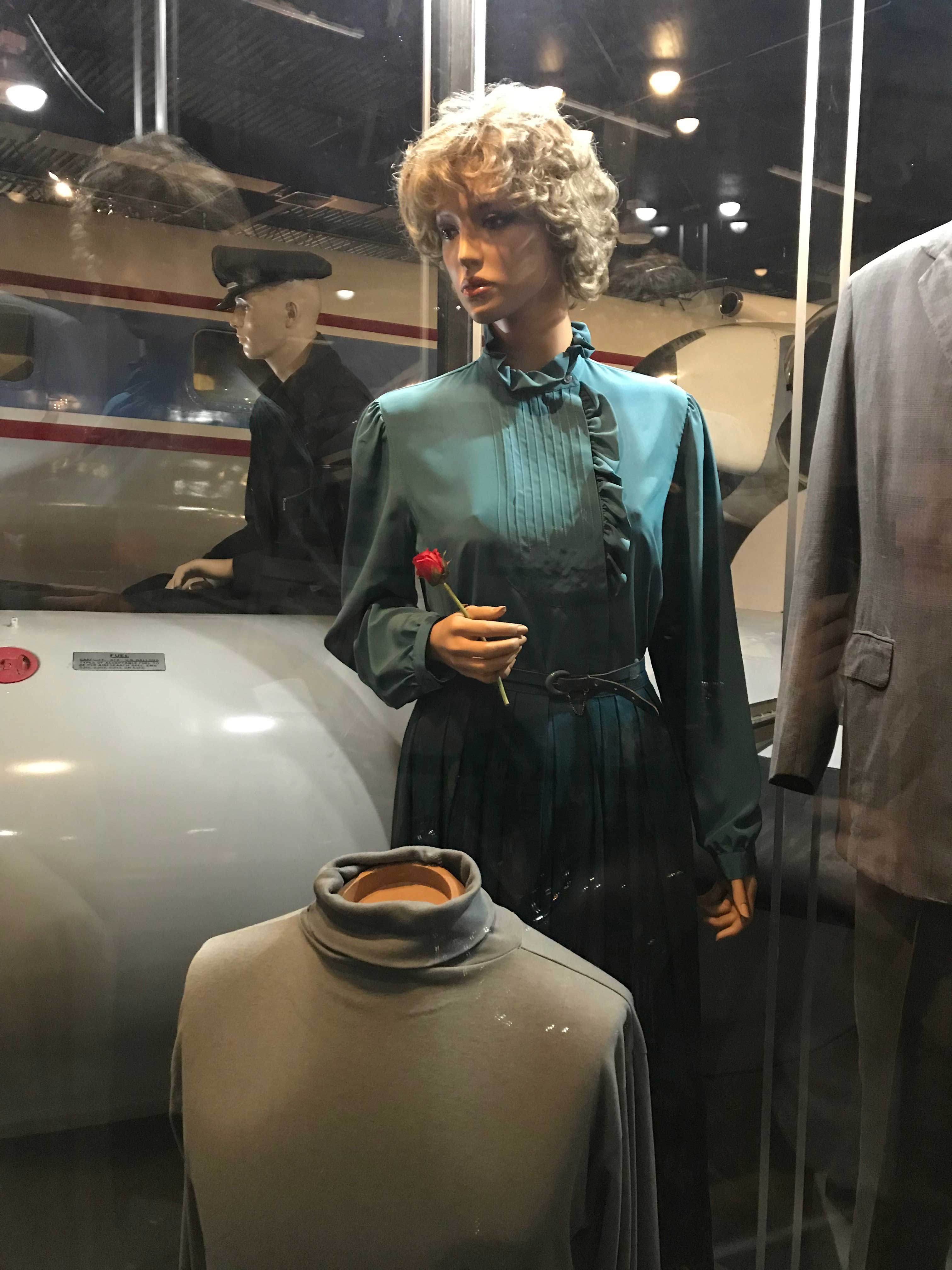 Lois Maxwell dress in Octopussy