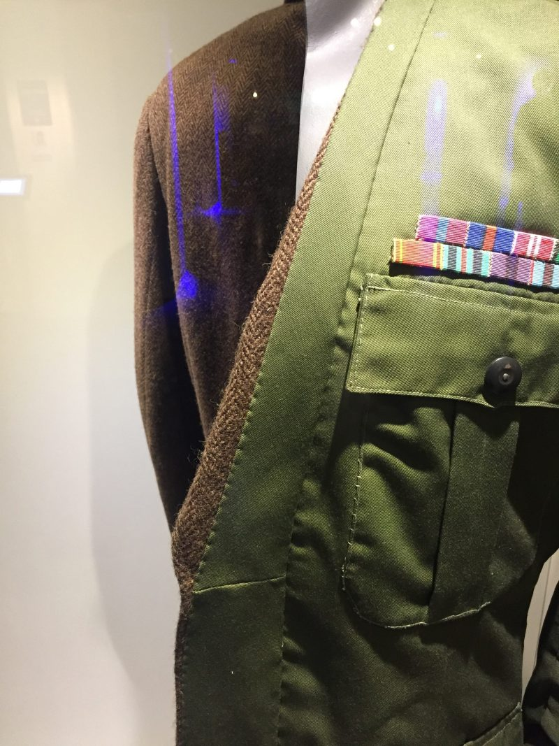 military jacket in octopussy