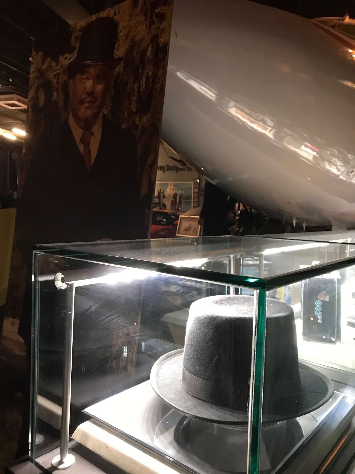 Oddjob's Hat in the Dezer Collection