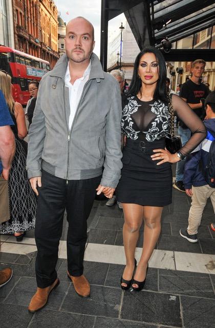 Jonathan Sothcott and partner Janine