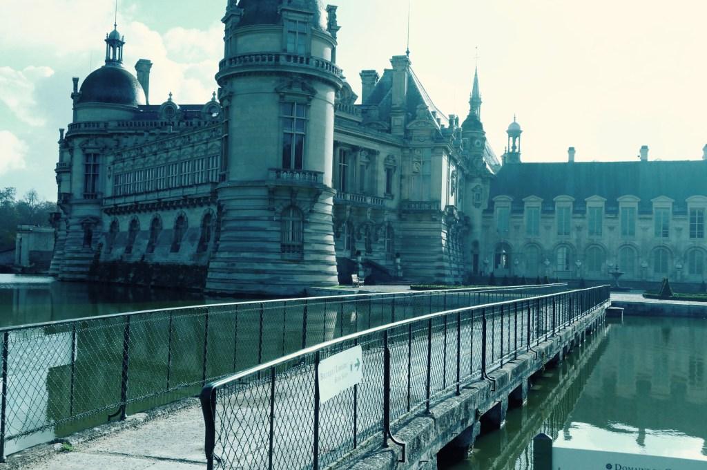 The bridge outside Chateau De Chantilly