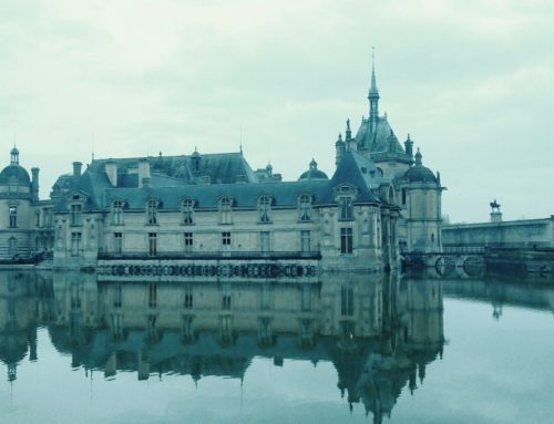 INSIDE CHATEAU DE CHANTILLY FROM A VIEW TO A KILL