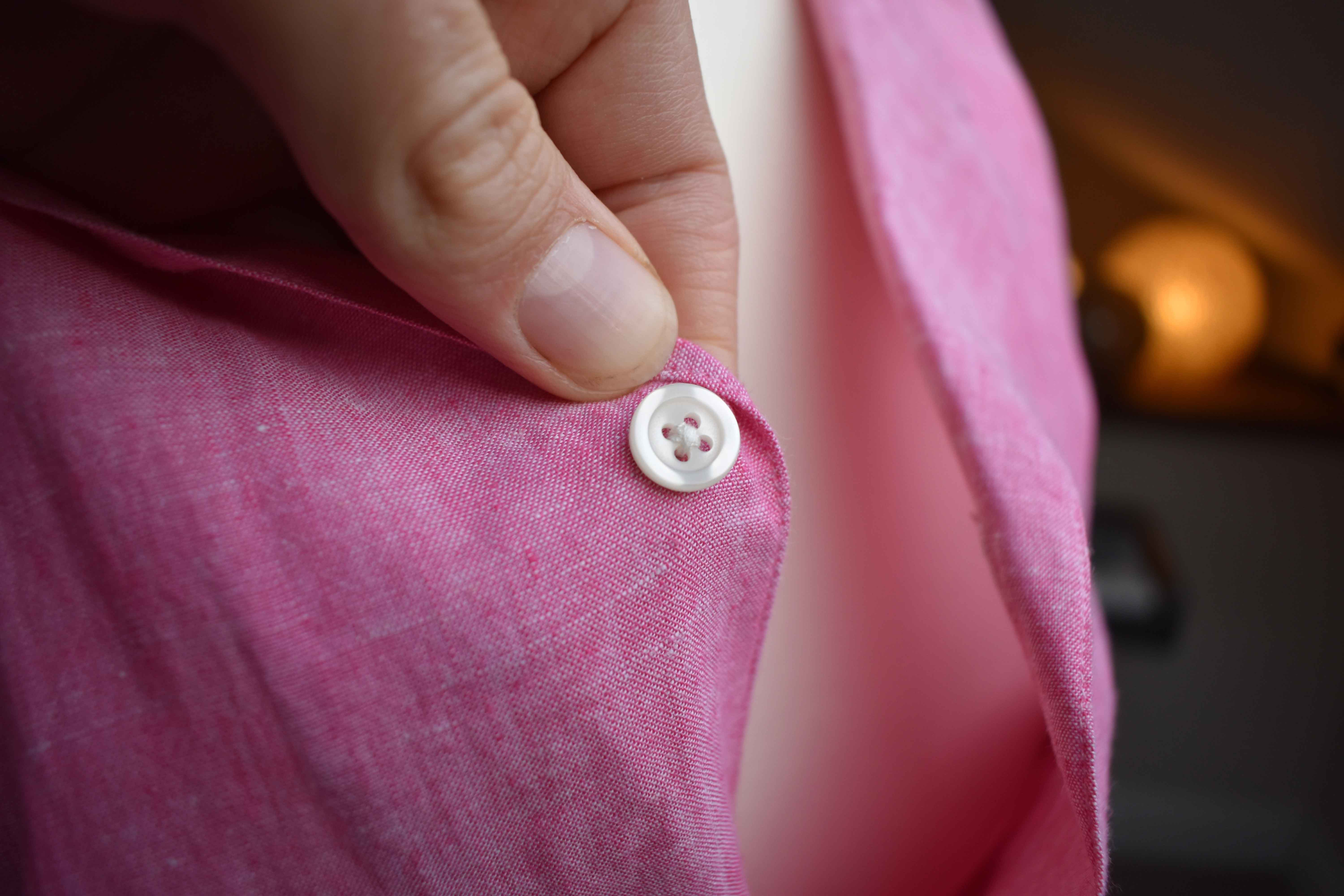 Button shirt details