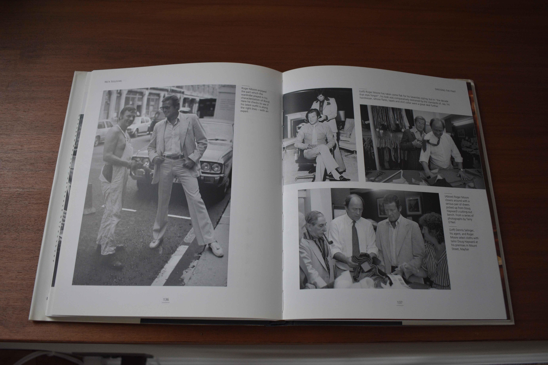 Fashion books and James Bond photos