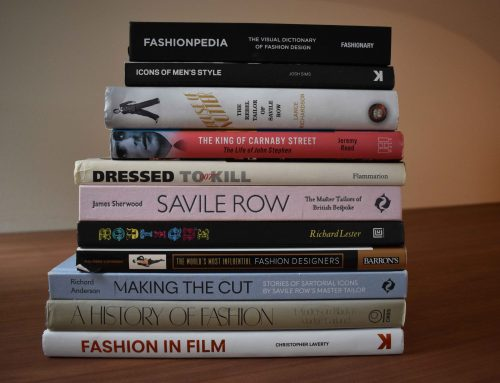 The Fashion Books I bought for Studying Fashion Design