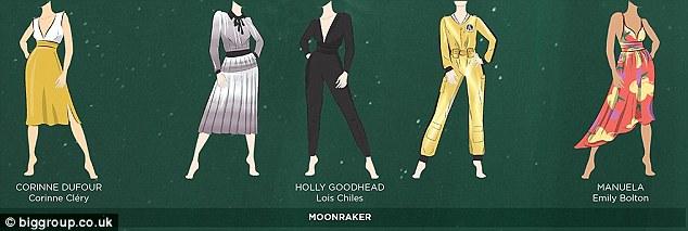 JAmes Bond girl outfits