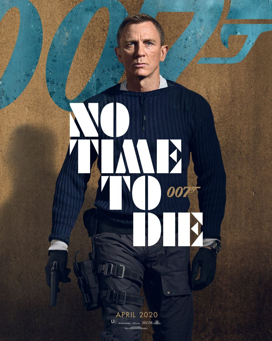 no time to die n.peal poster sweater