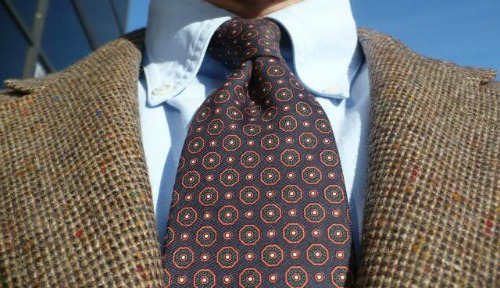 Fleming's Bond Wardrobe foulard ties