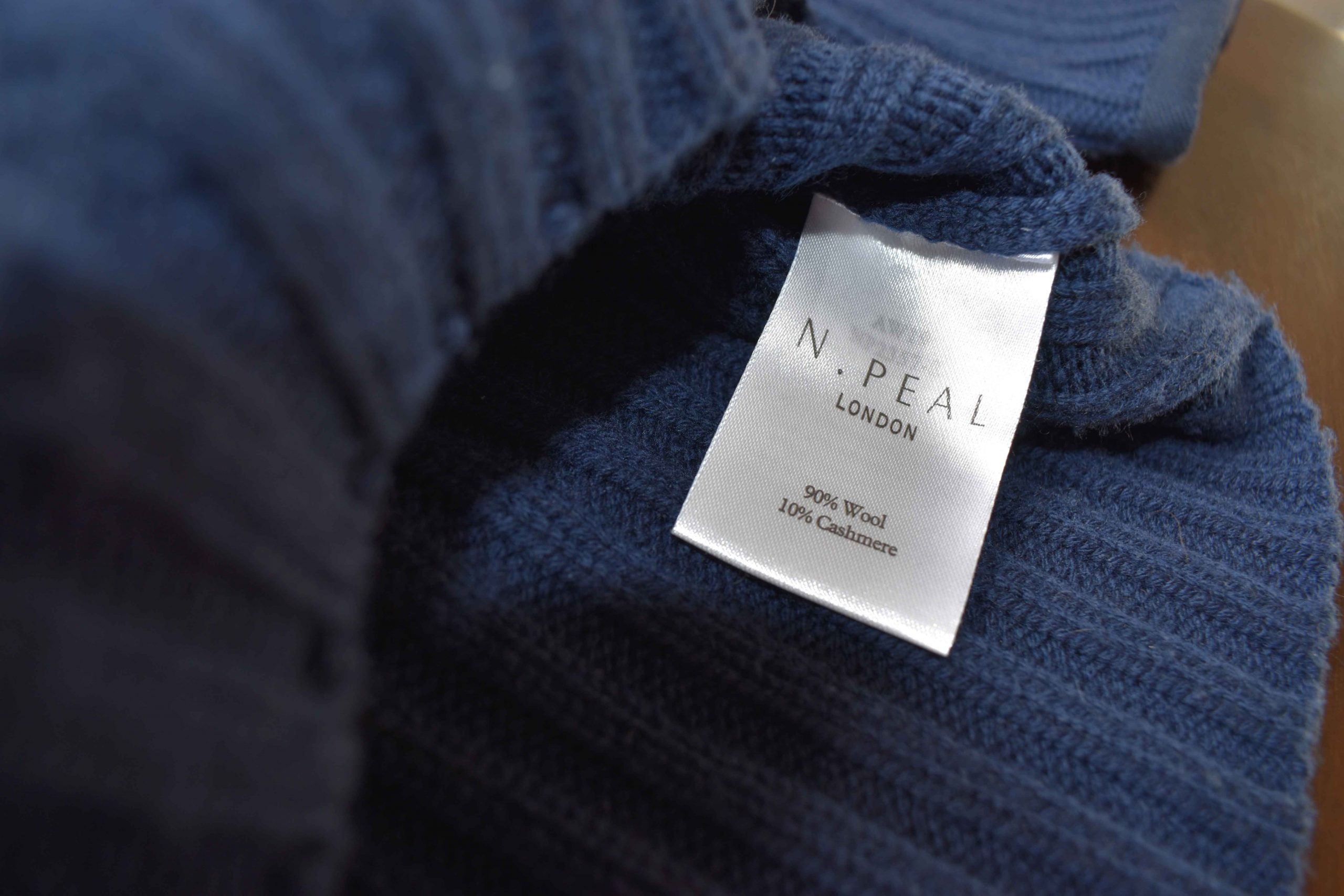 N.Peal cashmere label