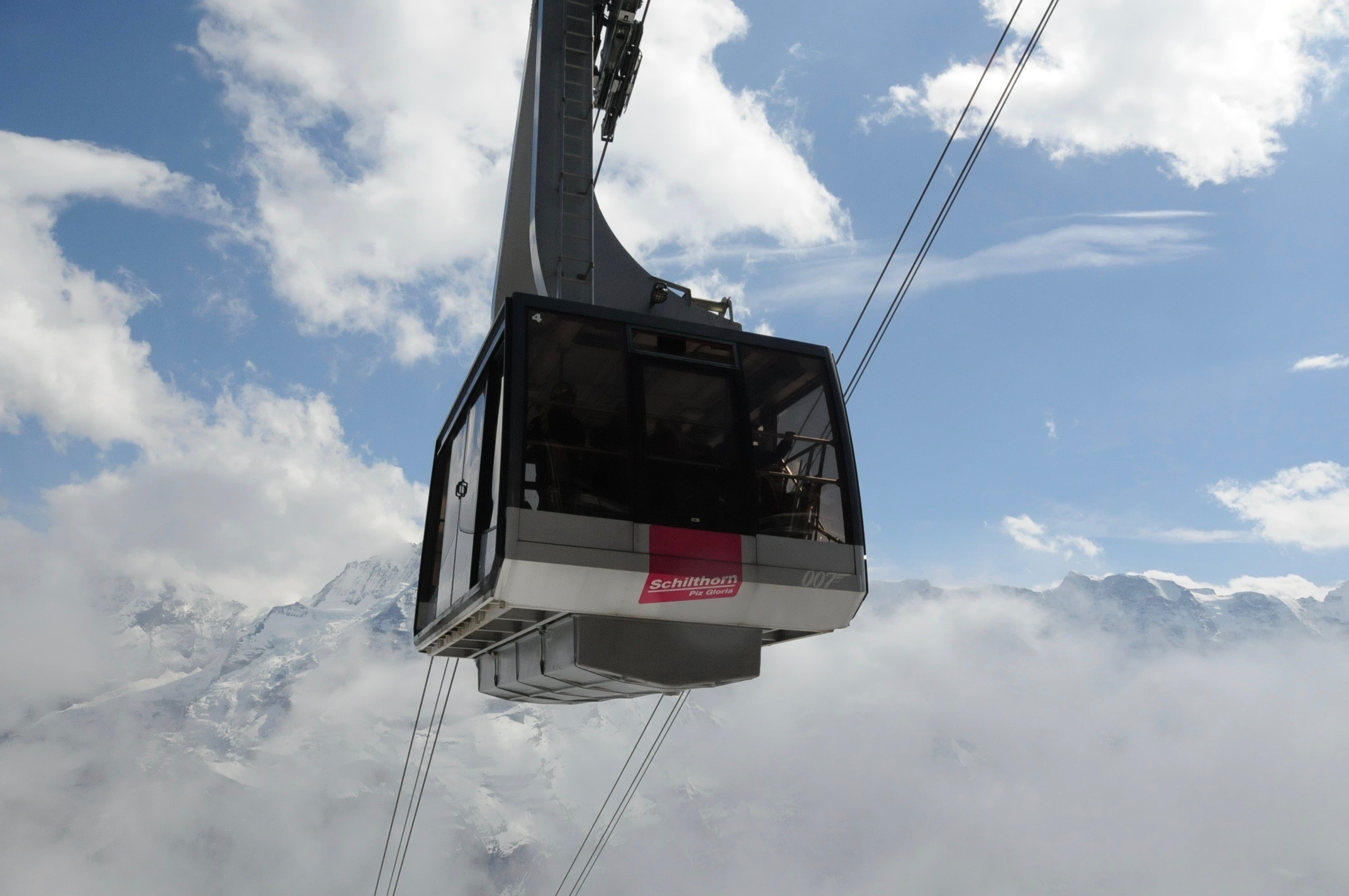 Piz Gloria cable car