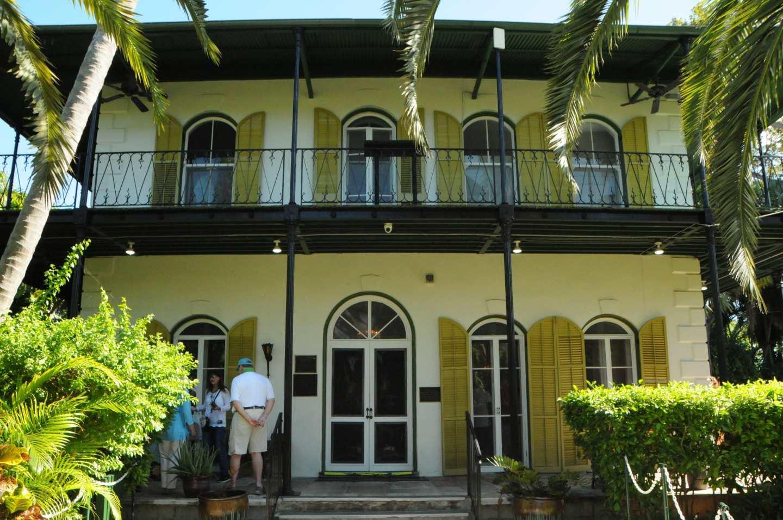Hemingway house outside