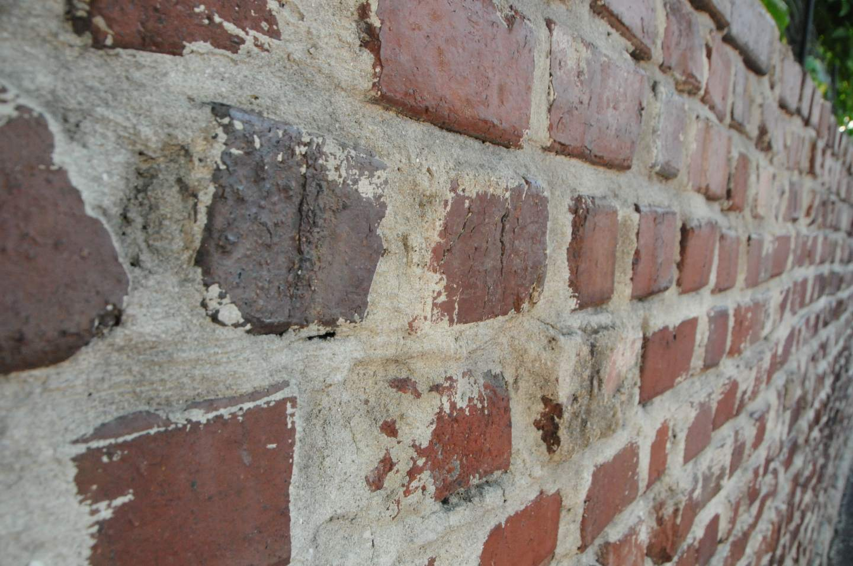 Hemingway house brick wall