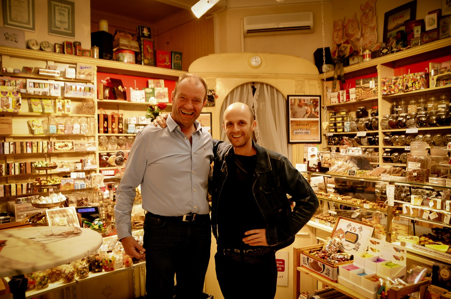 Inside the sweet shop Vienna The Living Daylights