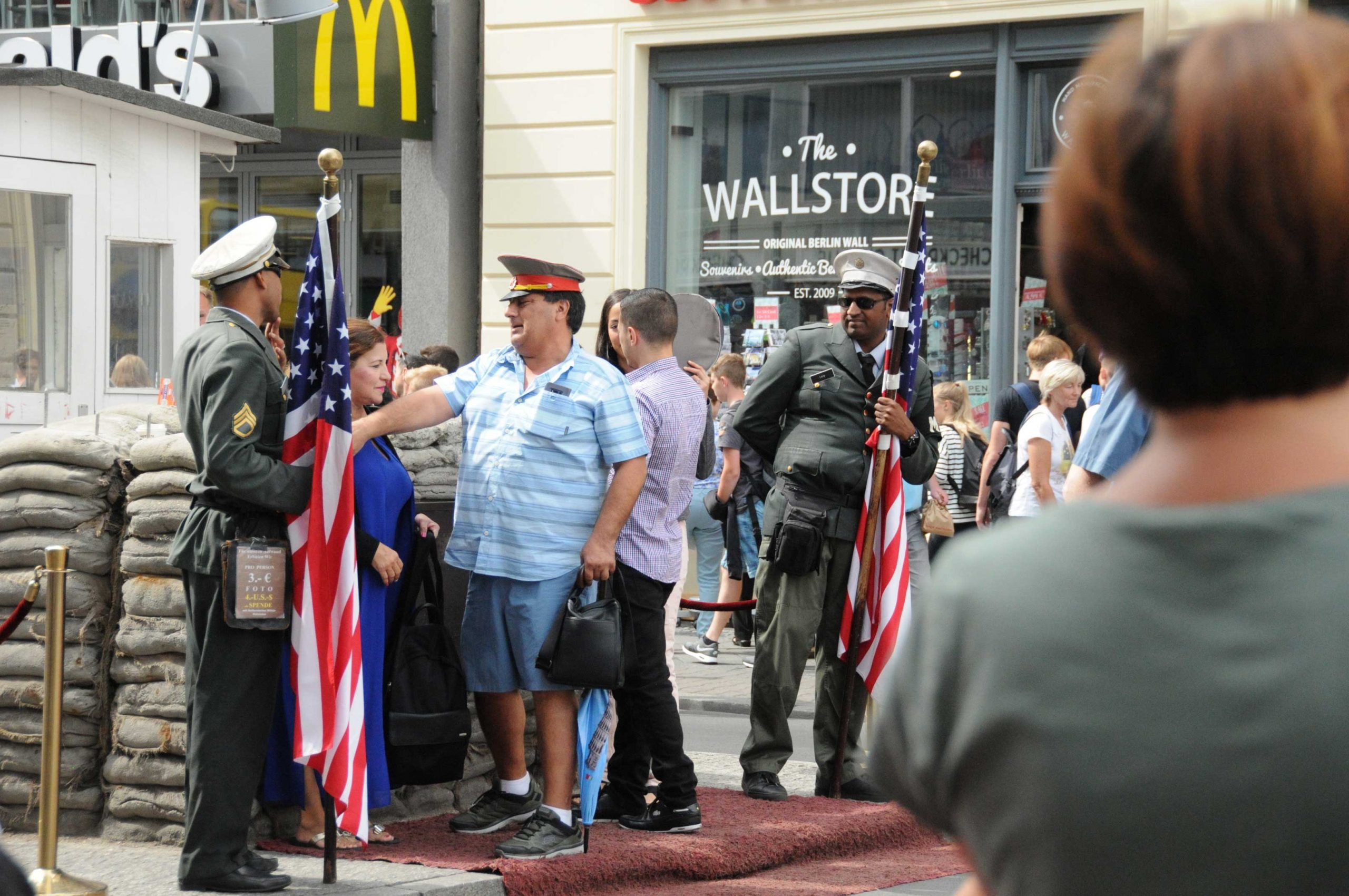 check point charlie touristy