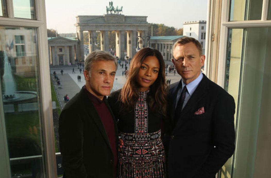 James Bond in Berlin spectre press tour