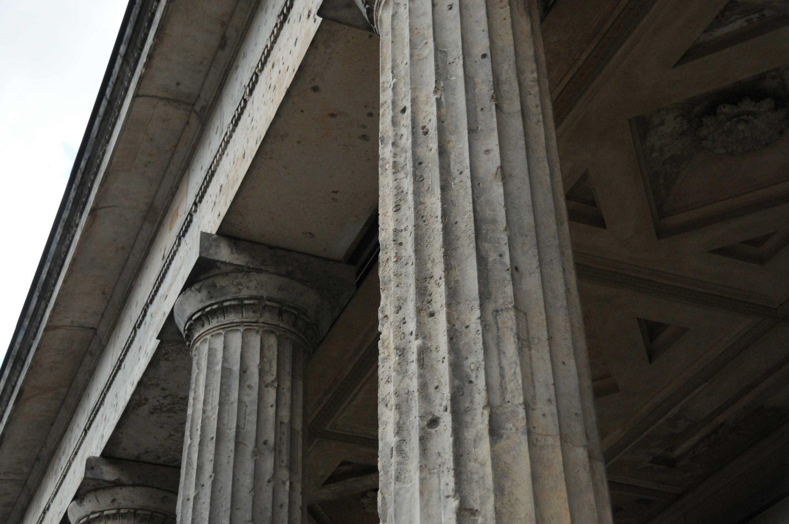 berlin pillars bulletholes