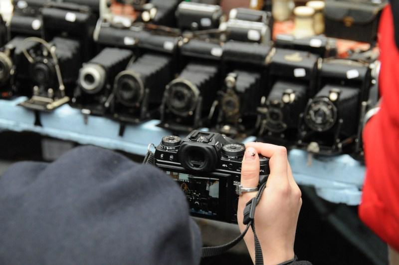 cameras market day notting hill