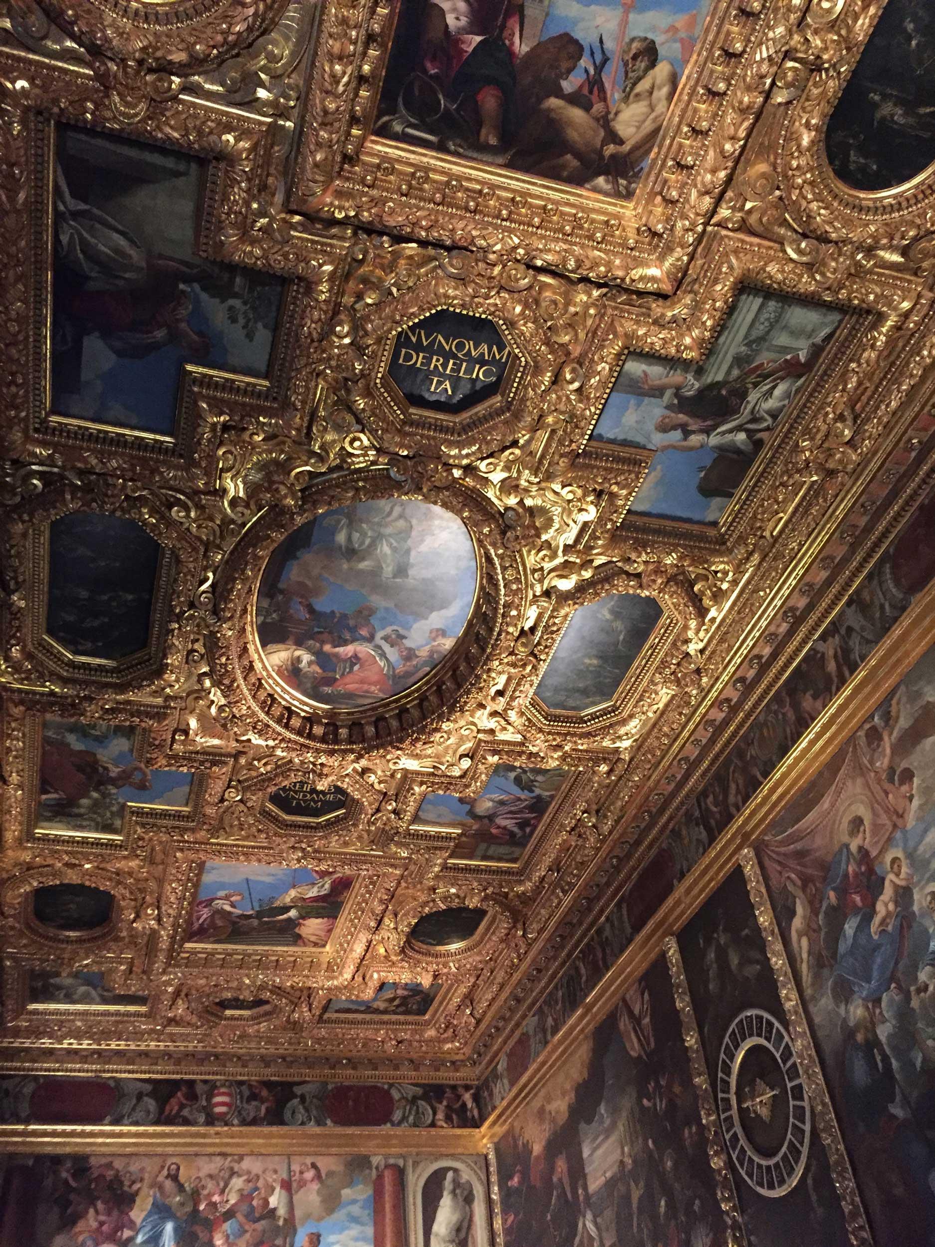 venice museum ceiling
