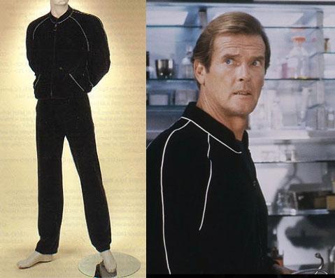 Bond a view to a kill jacket  James Bond collectibles