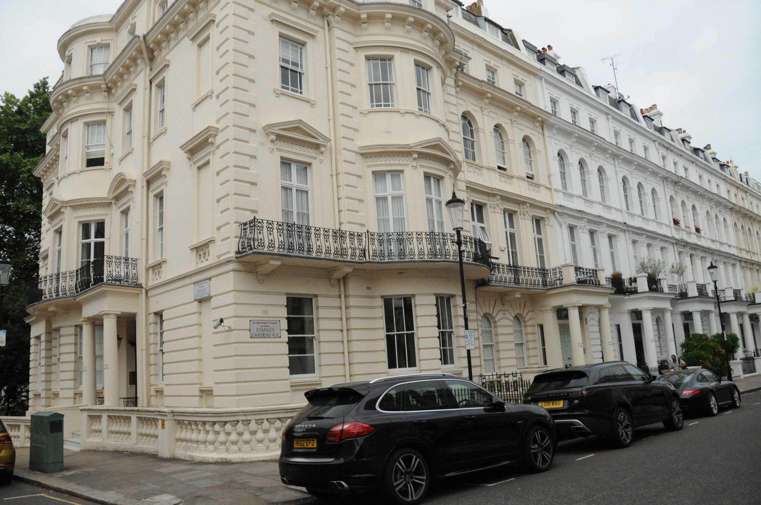 James Bond's flat