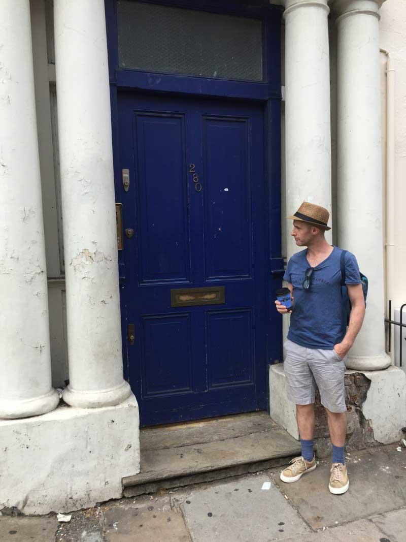 notting hill blue door