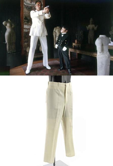 scaramanga christopher lee trousers James Bond collectibles