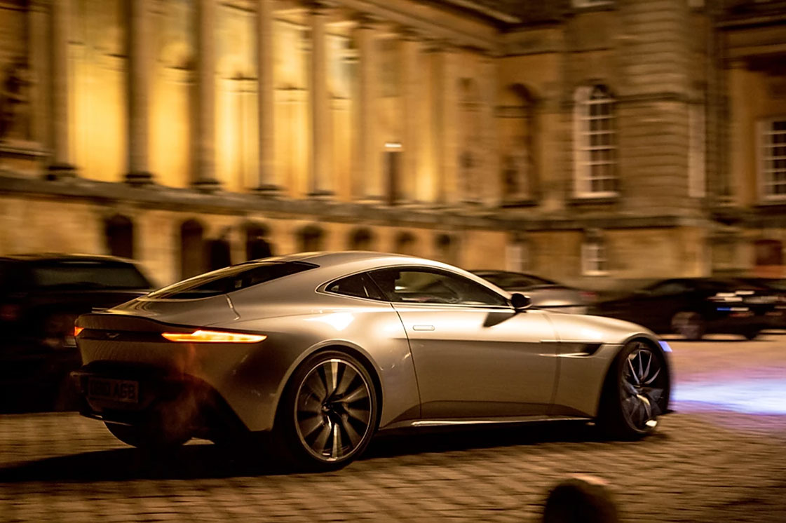 Aston martin db10 blenheim palace