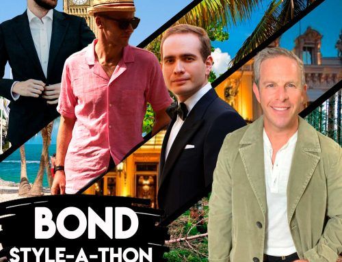 James Bond Style-A-Thon Live Stream