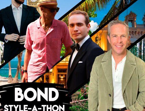 James Bond Style-A-Thon Live Stream