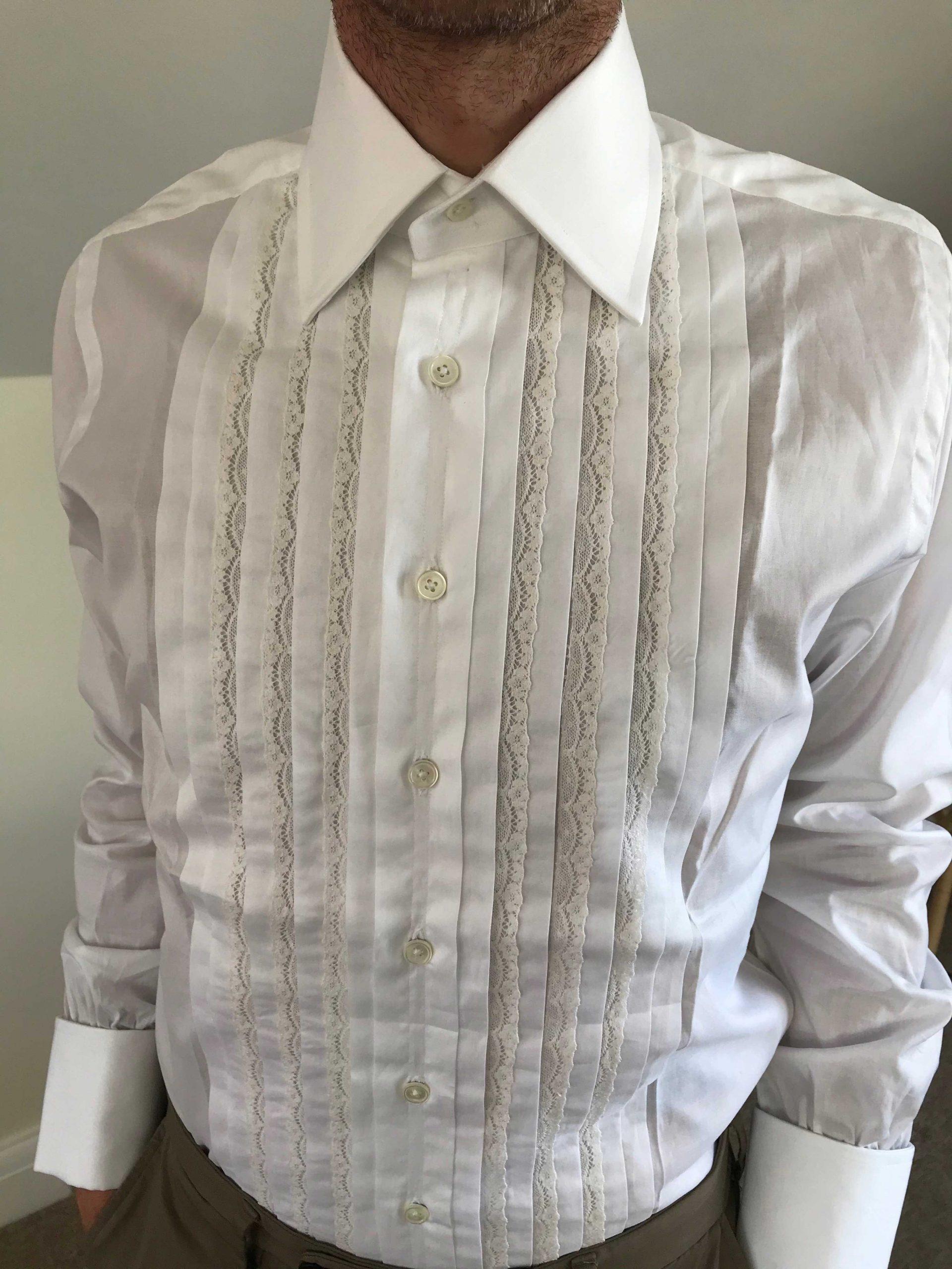 bespoke frank foster shirt