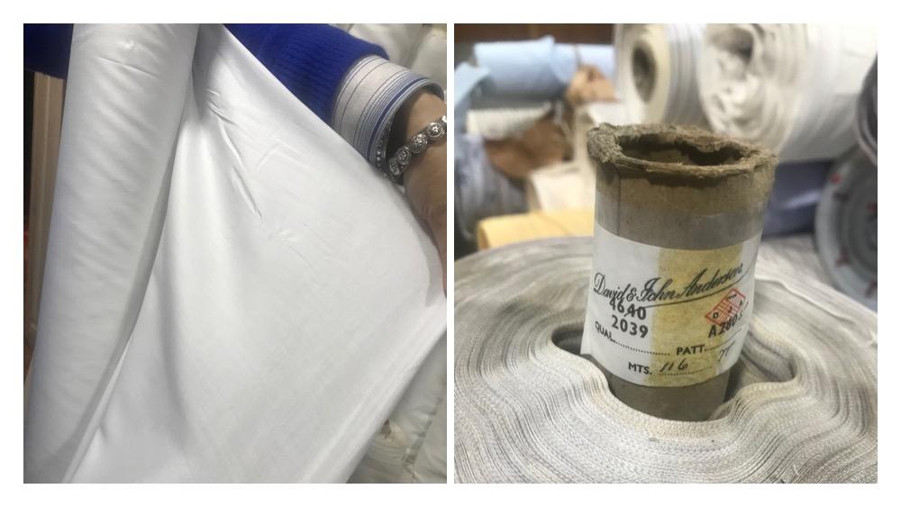 shirt fabric bespoke