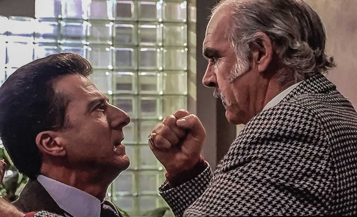 connery and hoffman fight