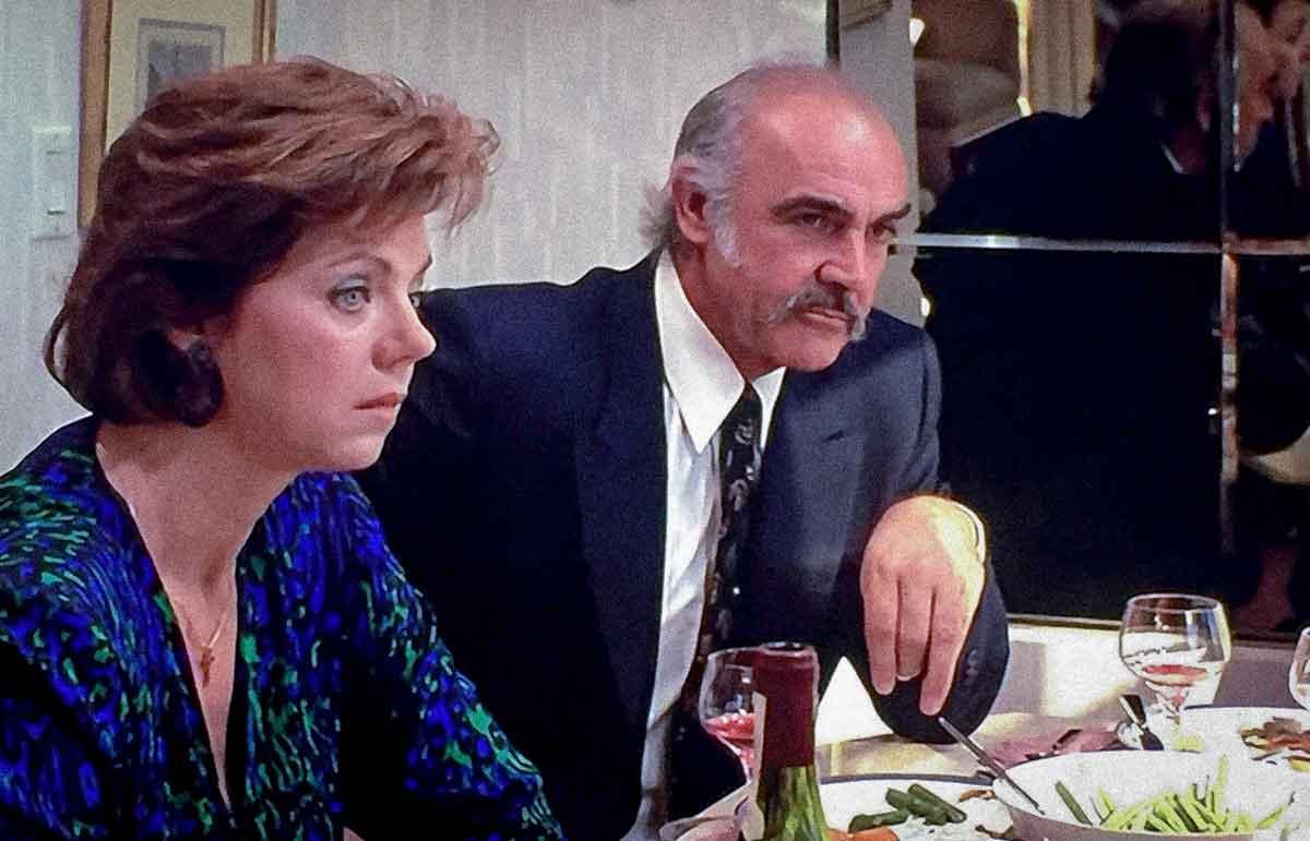 connery eating dinner Family Business