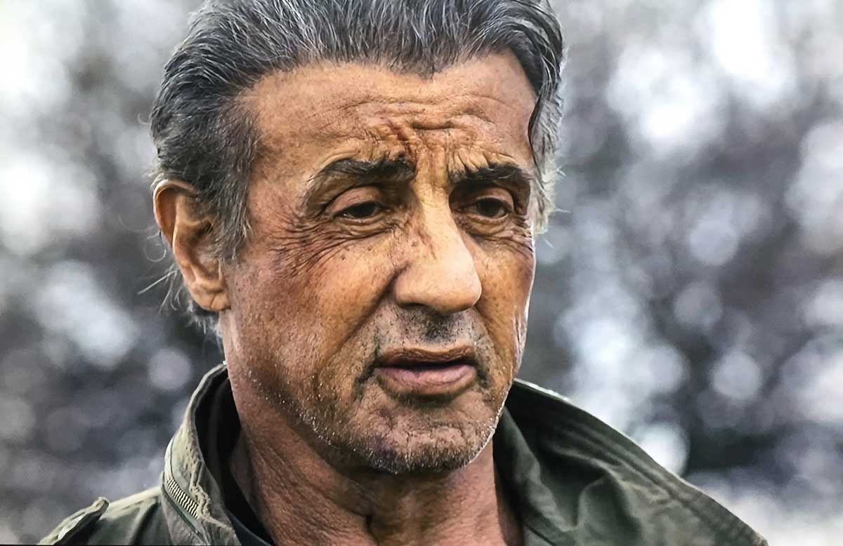 Rambo: Last Blood sly stallone close up